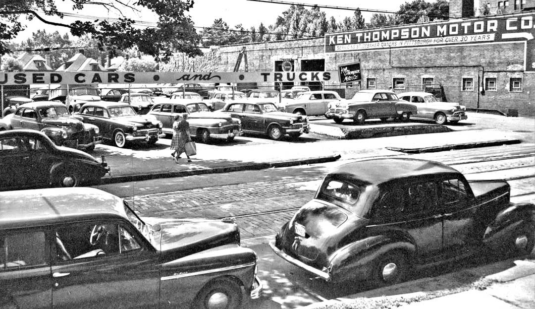 Auto Garage For Sale Pittsburgh: Ken Thompson Motor Co. Studebaker Sales And Service