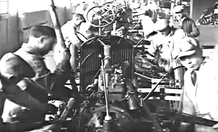 Todays Feature Is A Pair Of Short Videos Showing Various Scenes On The Model Ford Assembly Line Between Years 1928 T0 31