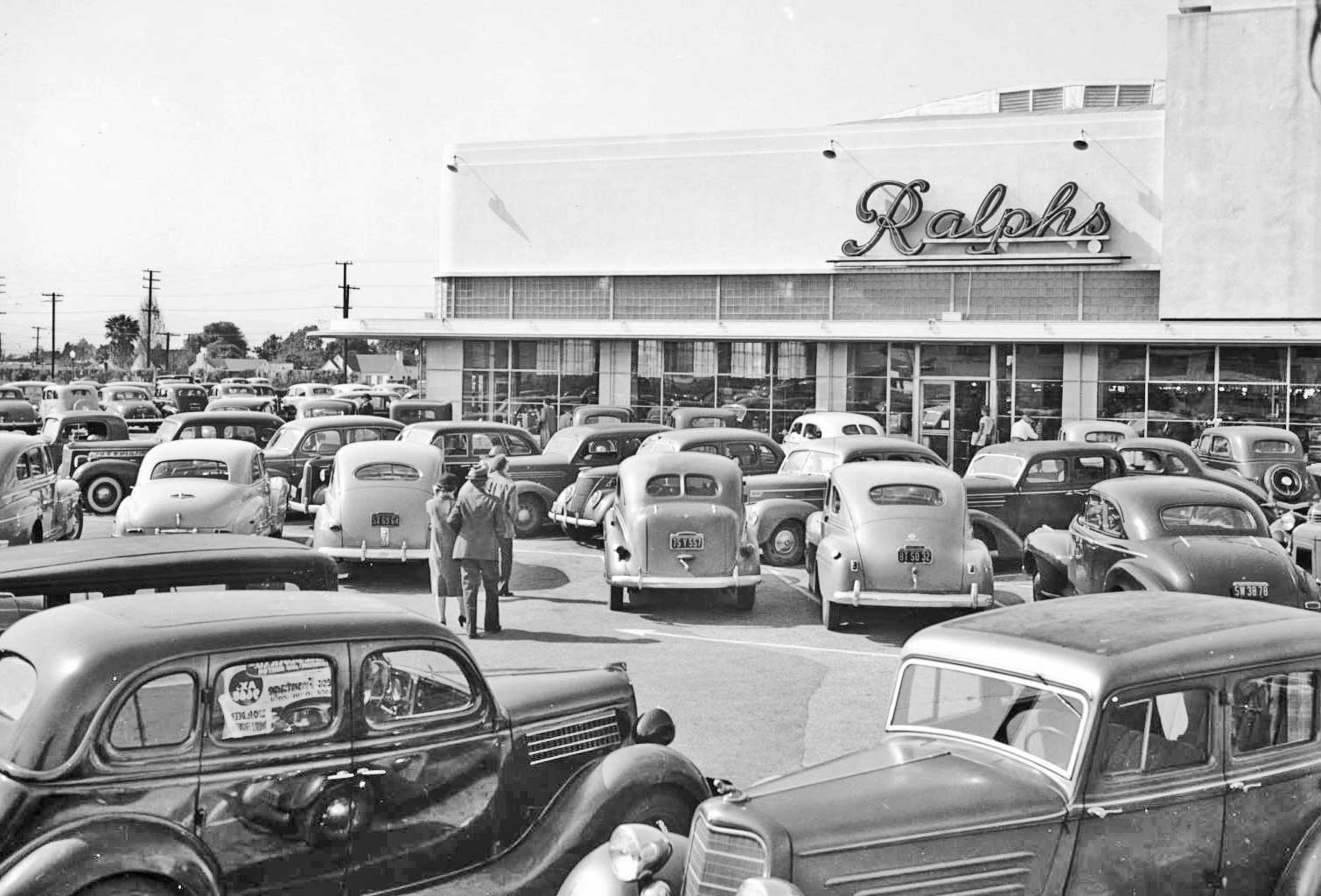 The Parking Lot Series Ralphs Los Angeles Supermarkets
