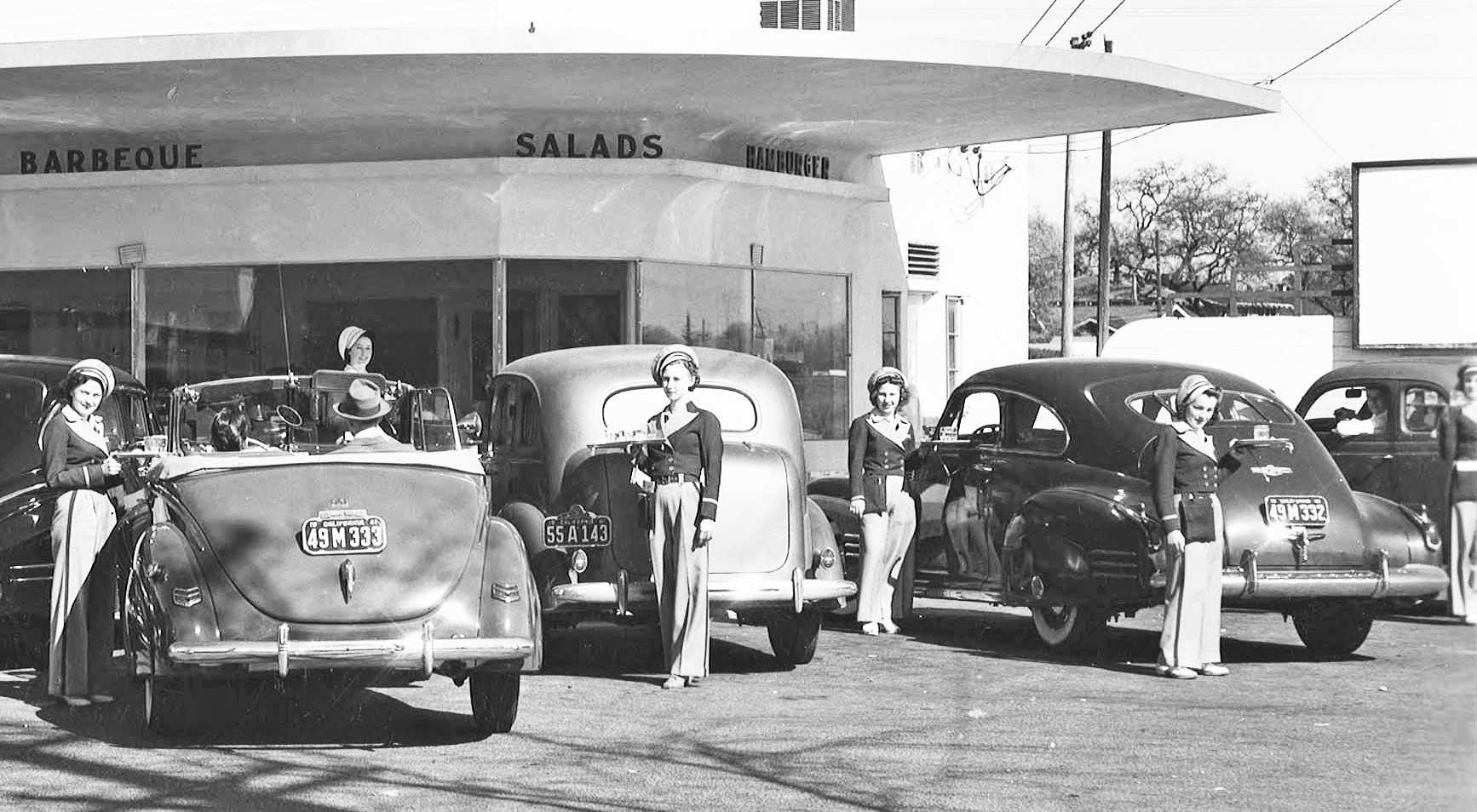 Ten Carhops No Waiting: Andy\'s Drive-In Sacramento, California | The ...