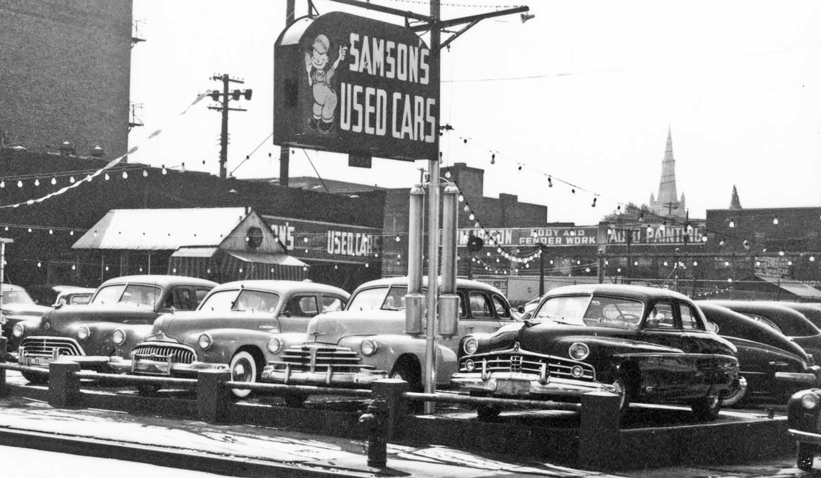 Samson\'s Used Car Lot – Pittsburgh, Pennsylvania | The Old Motor
