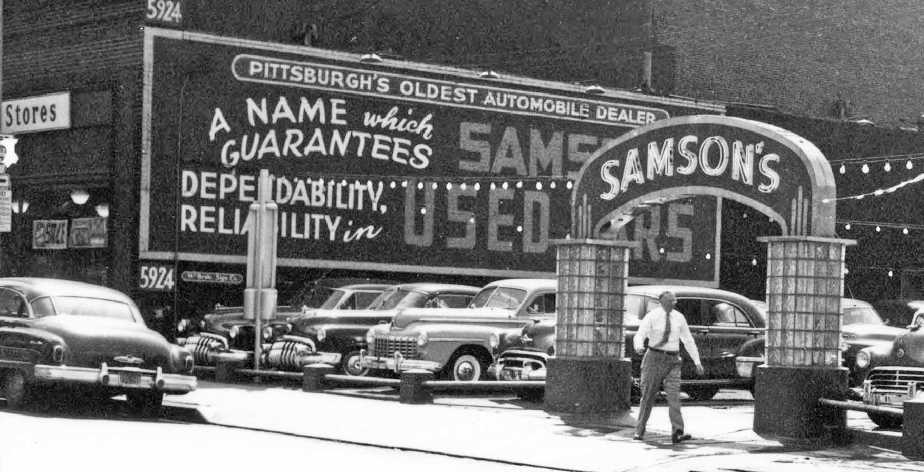 Samson\'s Used Car Lot – Pittsburgh, Pennsylvania   The Old Motor