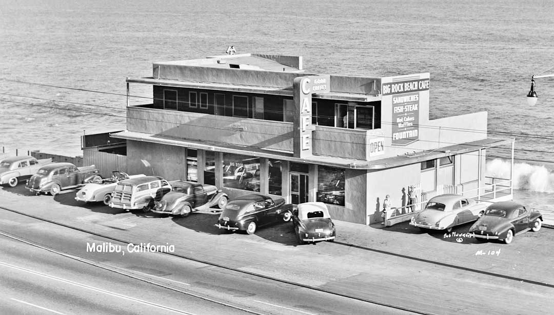 3a653900db39 Pacific Coast Highway: The Big Rock Beach Cafe Malibu California   The Old  Motor