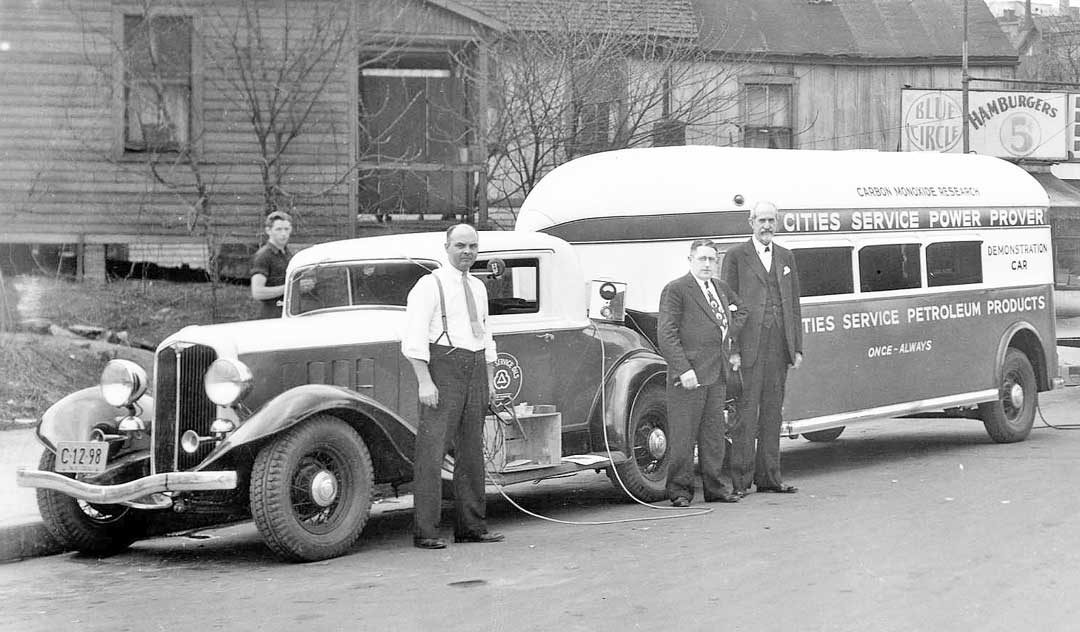Cities Service Power Prover Vehicle Inspection Team | The Old Motor