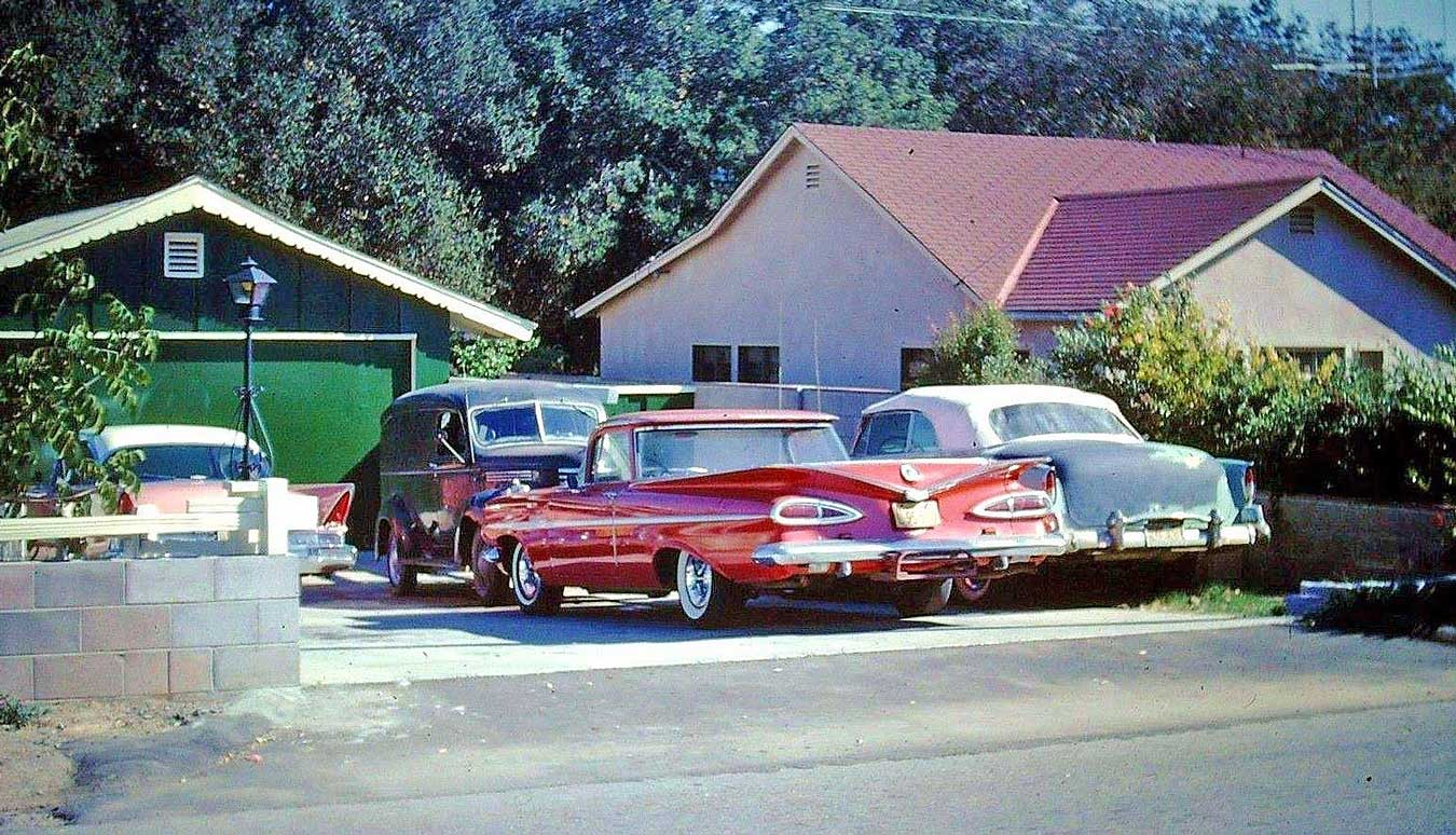 Four Fun Friday Fifties and Sixties Kodachrome Old Car Photos   The ...