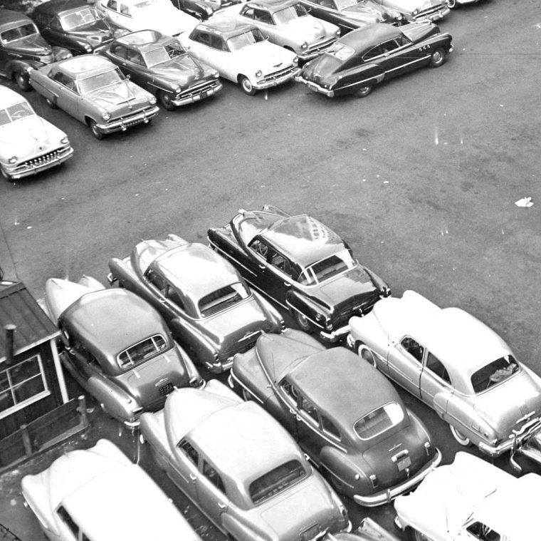 Parking Lot Series: Philadelphia Facility Early 1950s