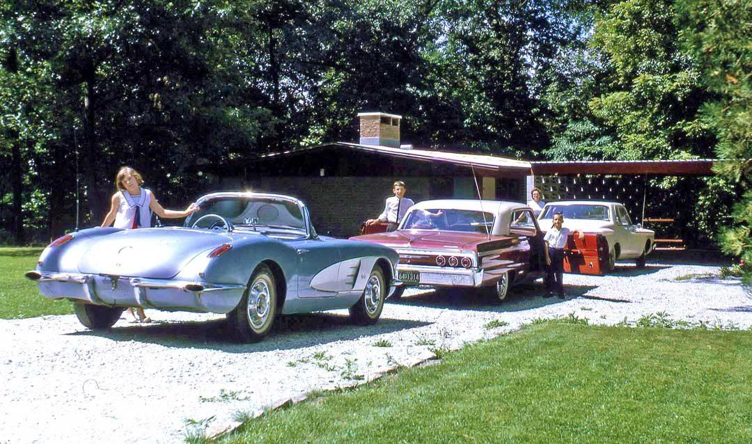 Four Fun Friday Fifties and Sixties Kodachrome Old Car Photos | The ...