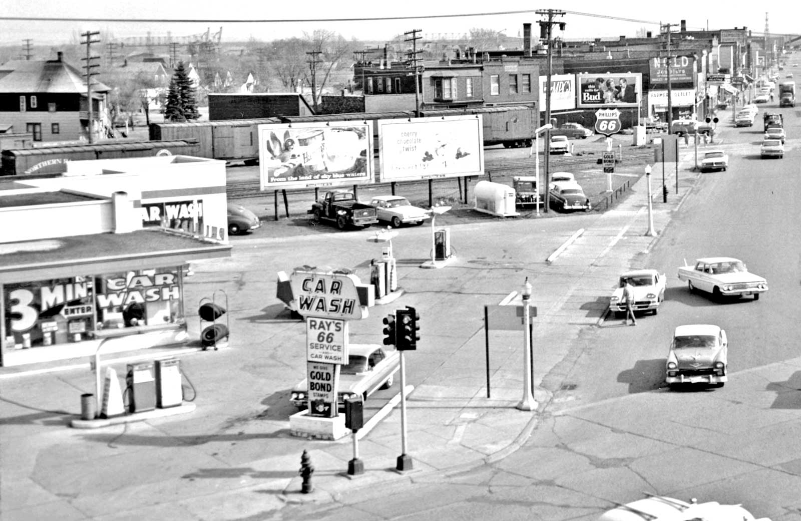 Phillips 66 And Standard Oil Gas Stations West Duluth Minnesota
