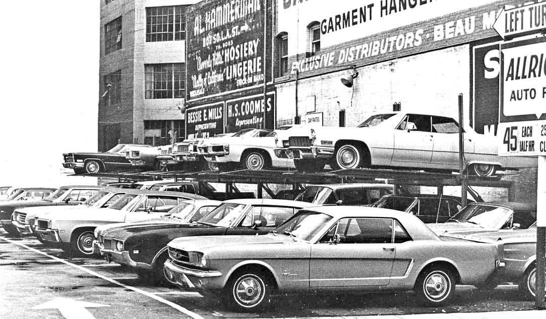 the parking lot series a trio of 1960s and 1950s images the old motor. Black Bedroom Furniture Sets. Home Design Ideas