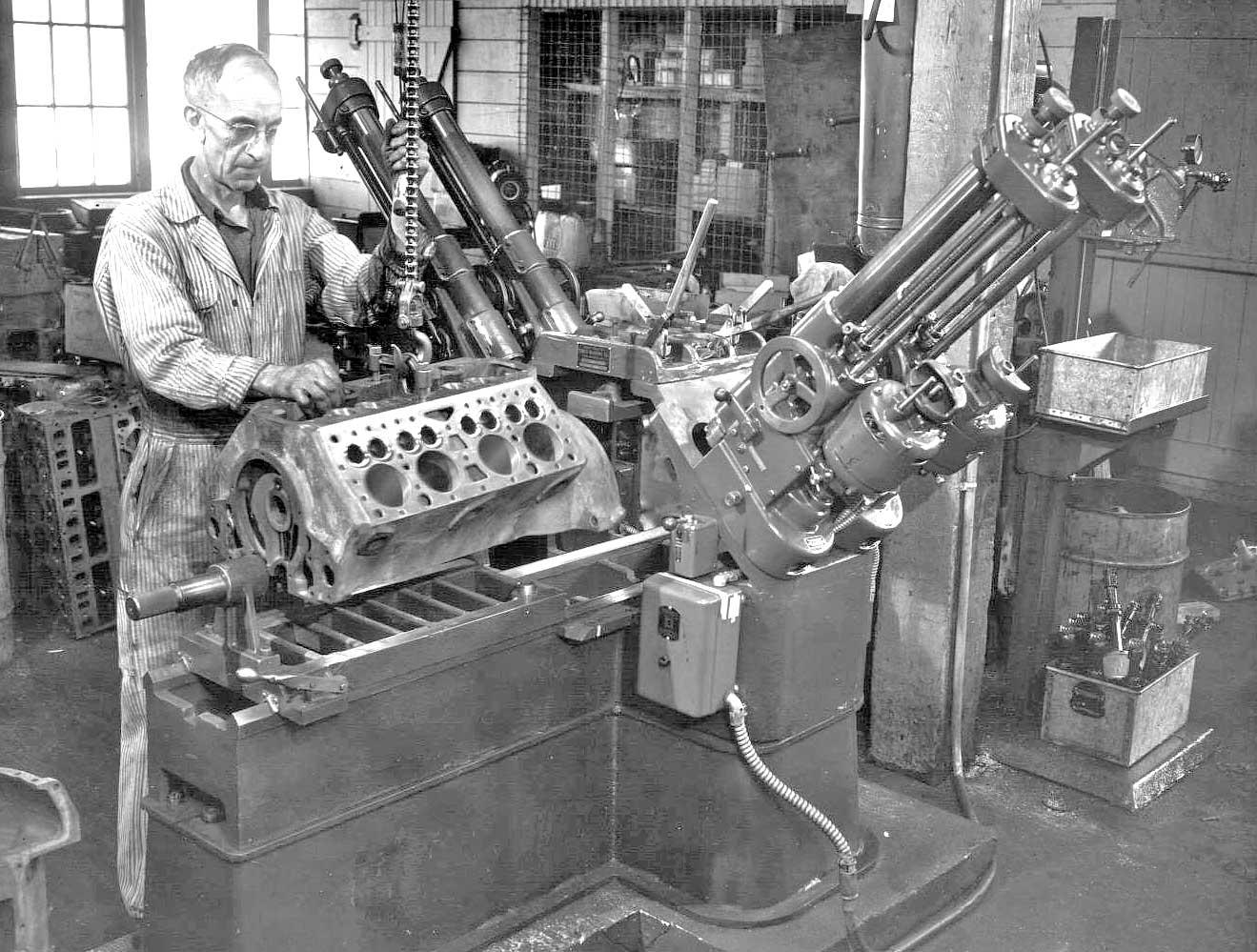 Ford Flathead V-8 Engine Rebuilder Shop Tour Part III | The