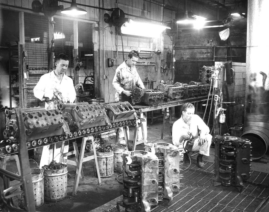 Post-War Ford Flathead V-8 Engine Rebuilder Shop Tour Part I   The