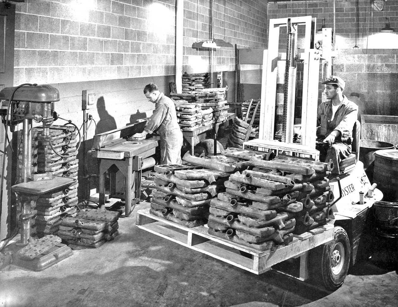 Post-War Ford Flathead V-8 Engine Rebuilder Shop Tour Part I
