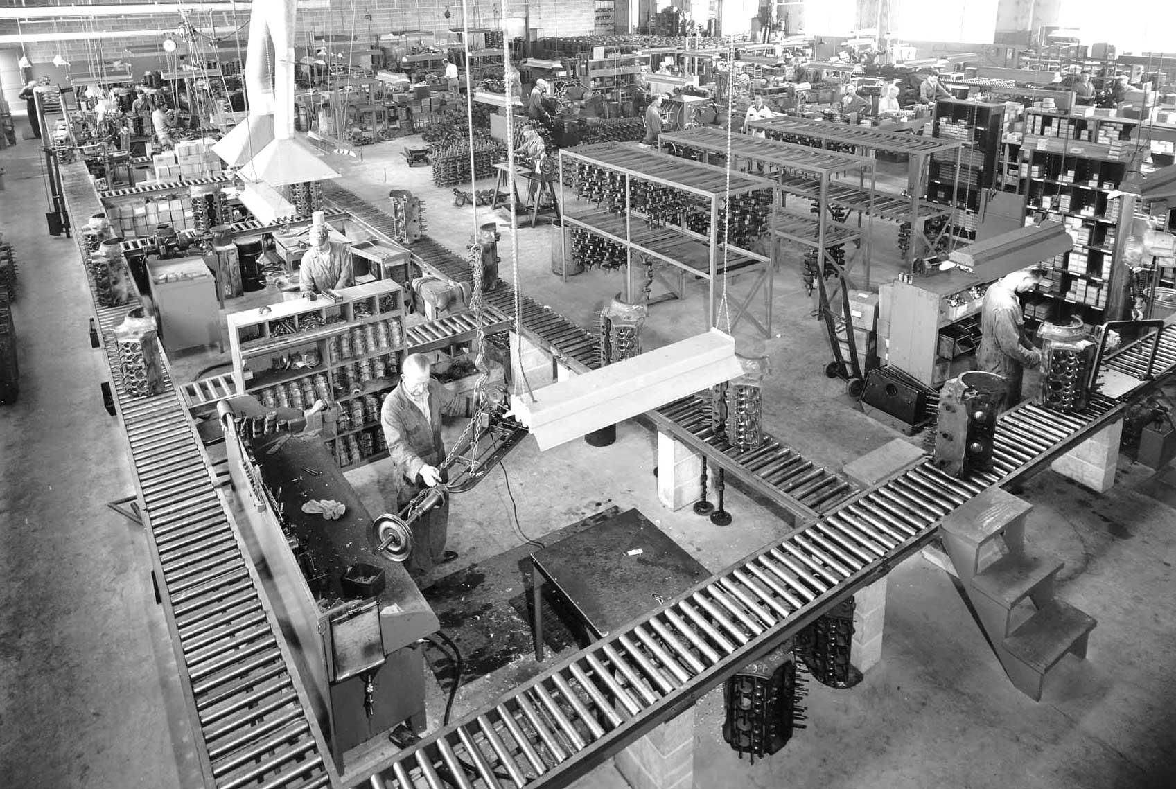 Post War Flathead V-8 Ford Engine Rebuilder Shop Tour Part