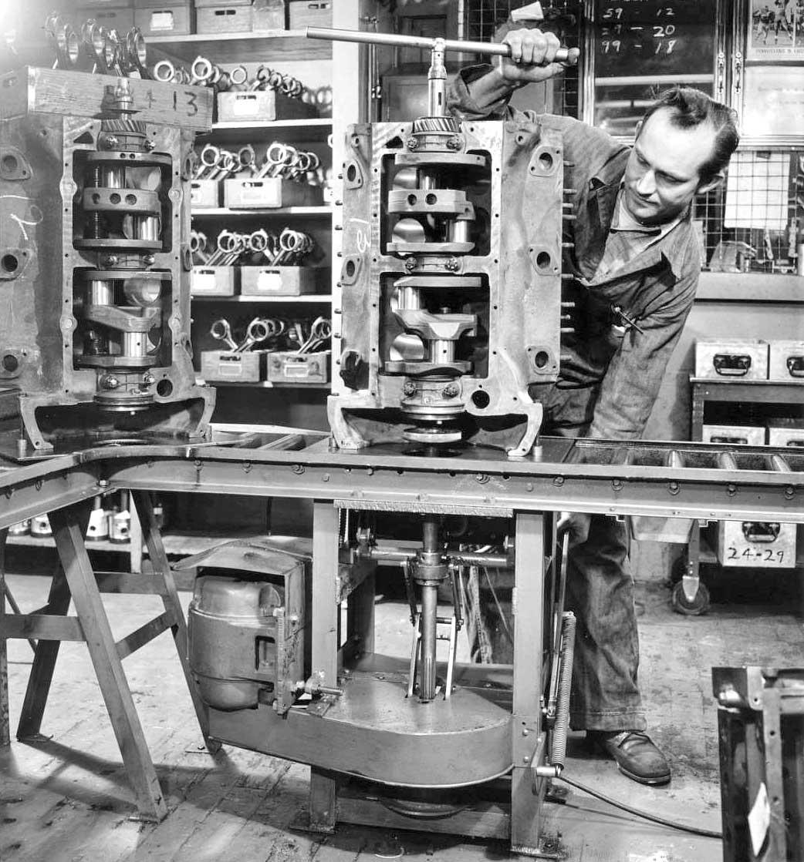 Post War Flathead V 8 Ford Engine Rebuilder Shop Tour Part Ii The