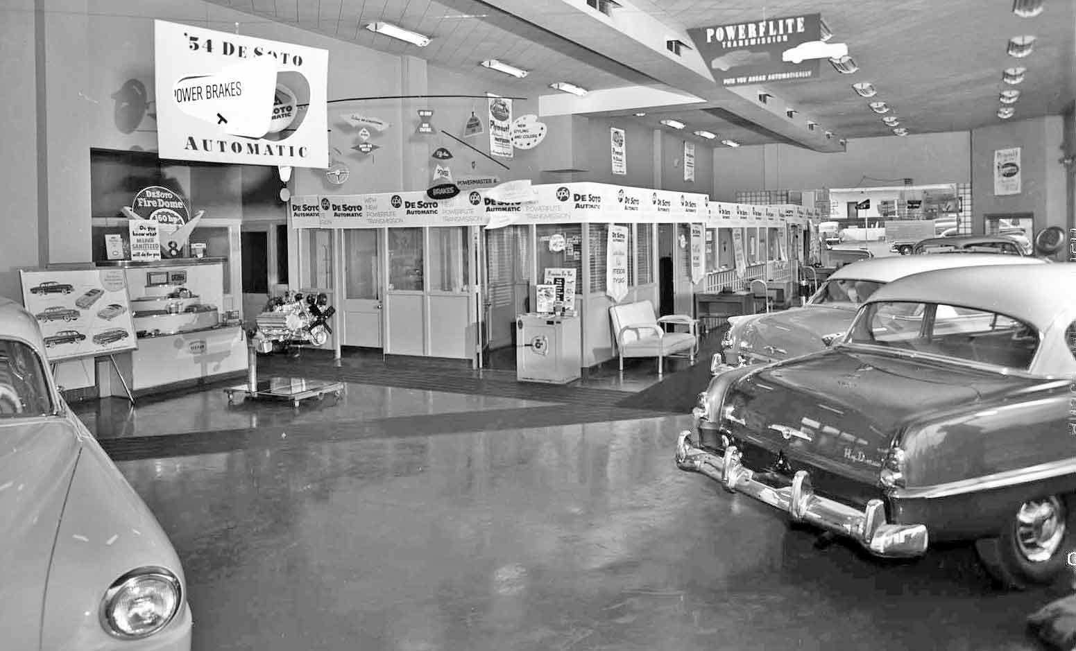Atlanta Georgia Wagstaff Motors De Soto And Plymouth The Old Motor