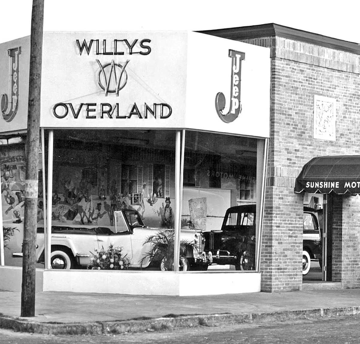 Sunshine Motors Willys-Overland Jeep Tampa, Florida