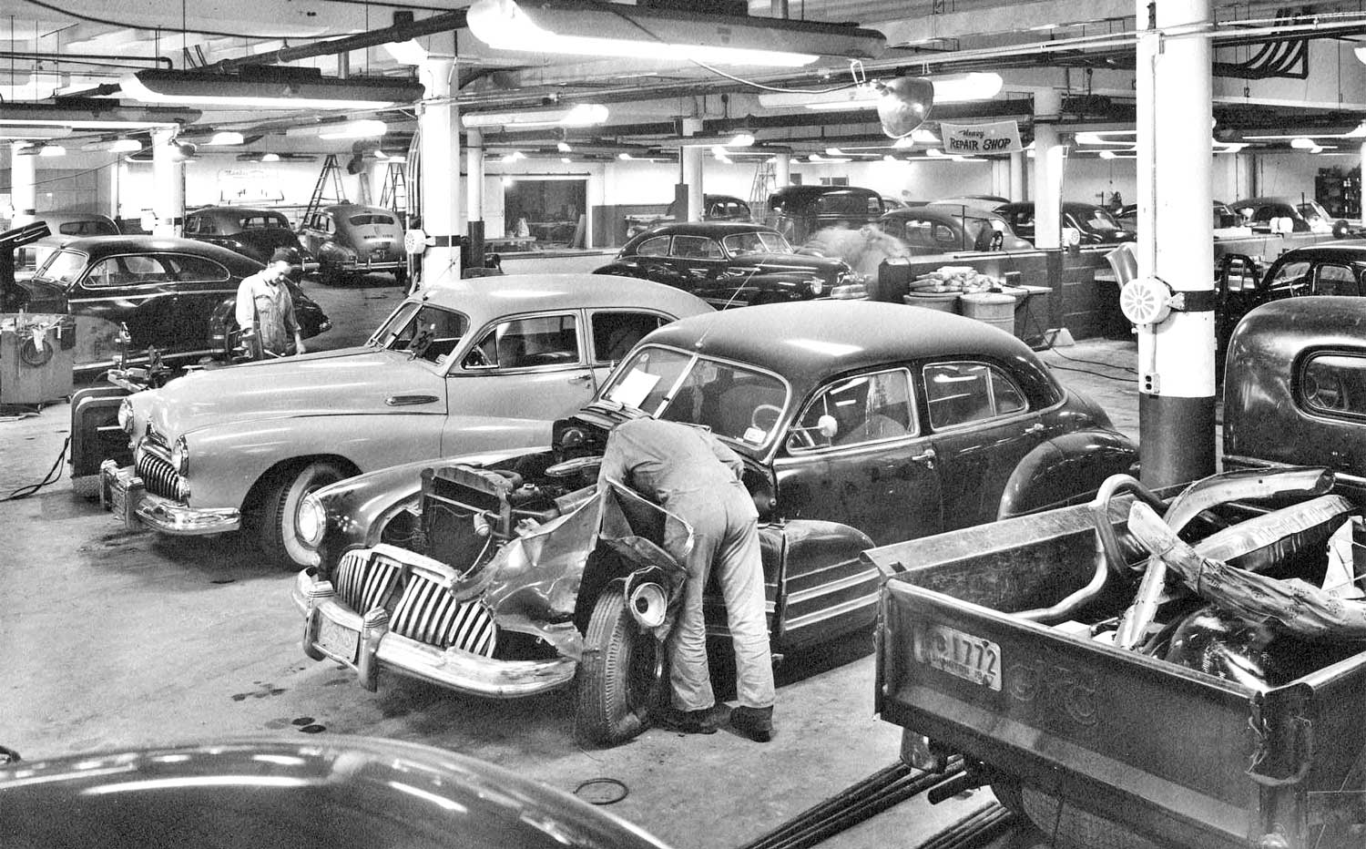 Mueller-Harkins Buick Lubricare and Body Shops | The Old Motor