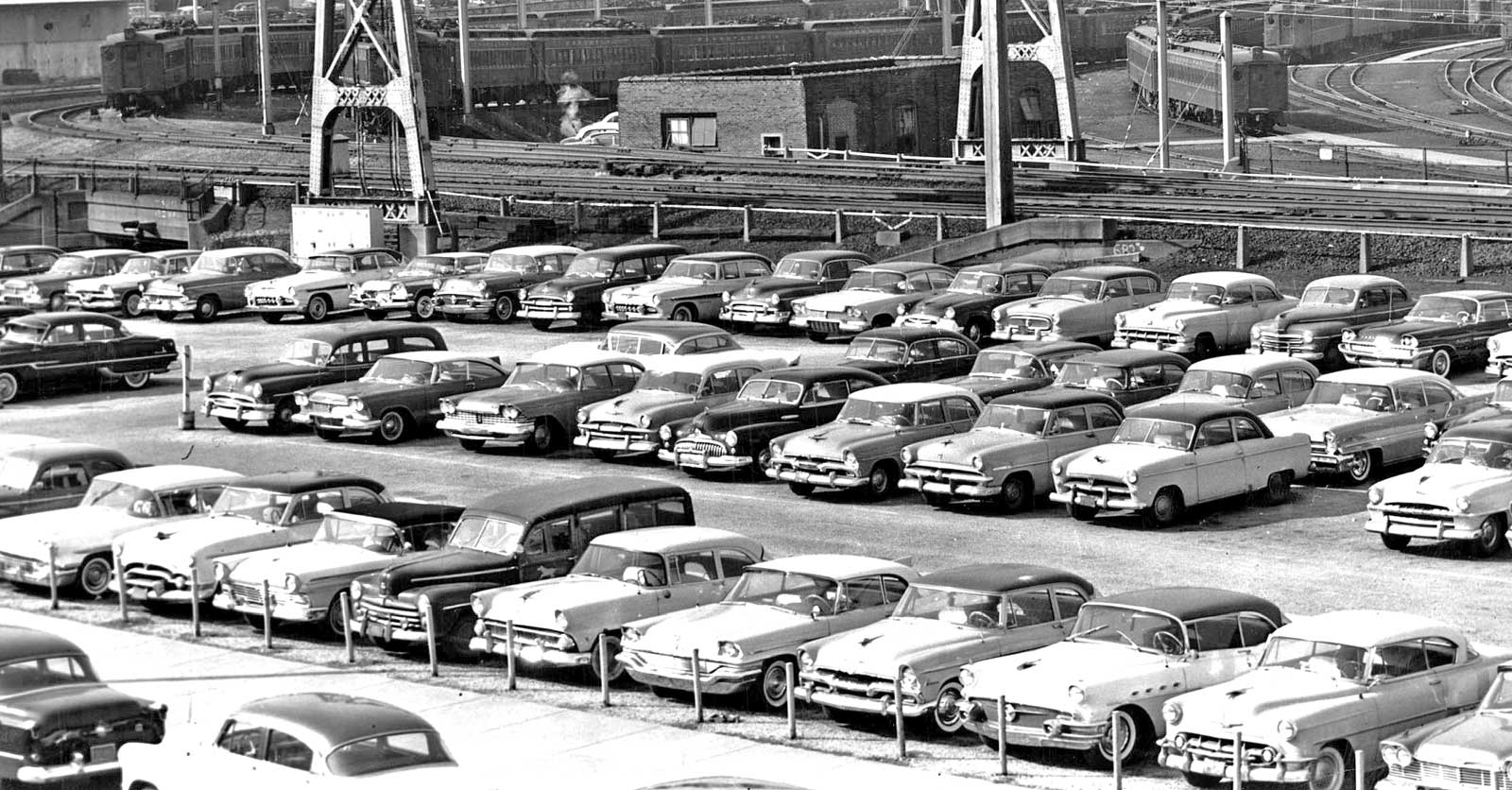 Parking Lot Series The Philadelphia Bulletin Newspaper