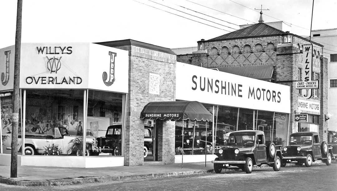 Jeep Dealership Tampa >> Sunshine Motors Willys Overland Jeep Tampa Florida The