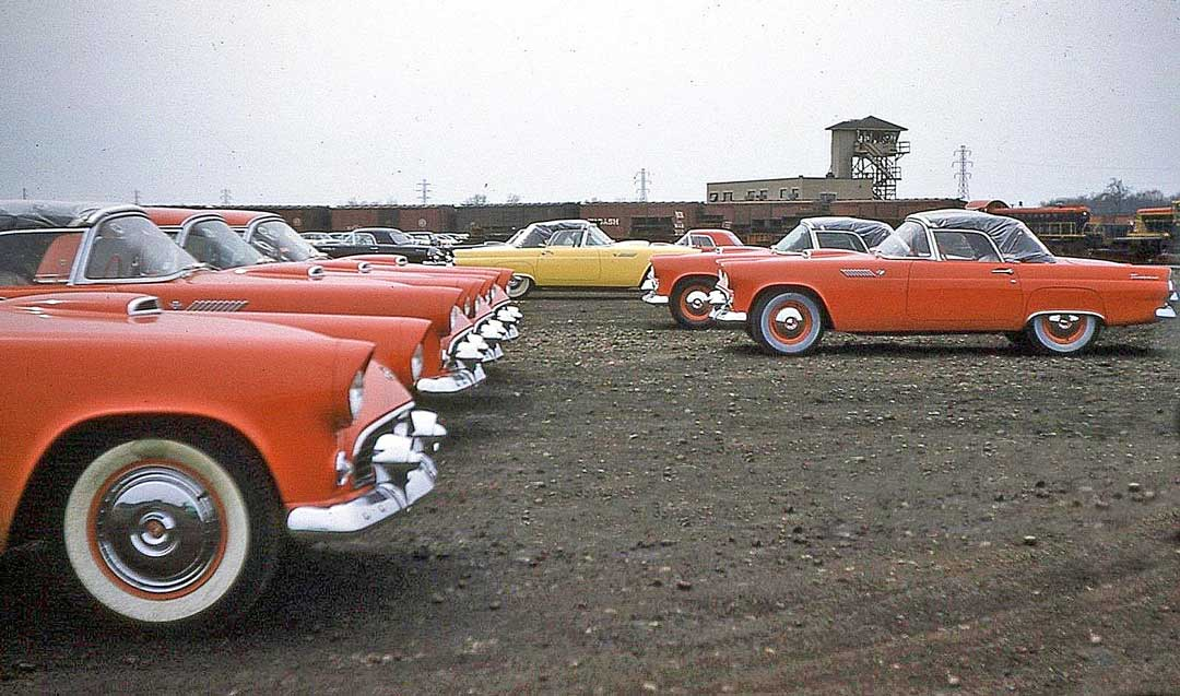 The Photo Containing 1955 Ford Thunder Birds
