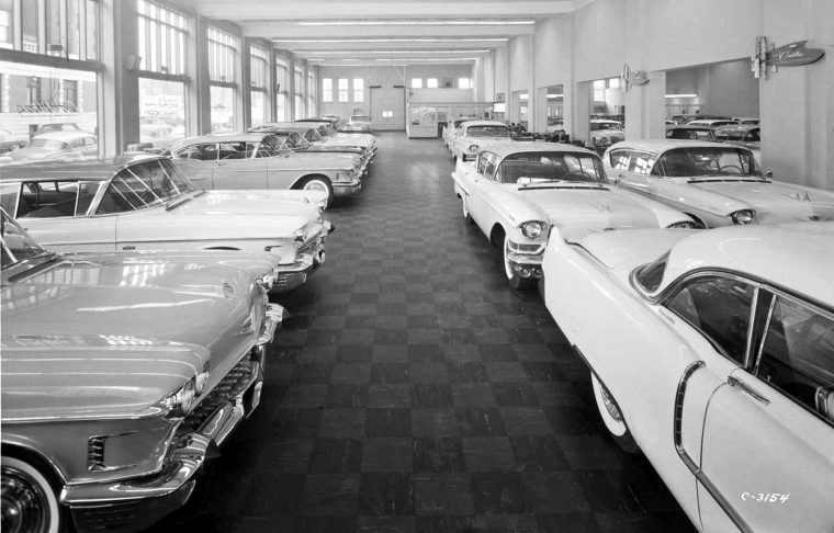 New and Used Fifties Cadillac's at the Chicago Factory ...