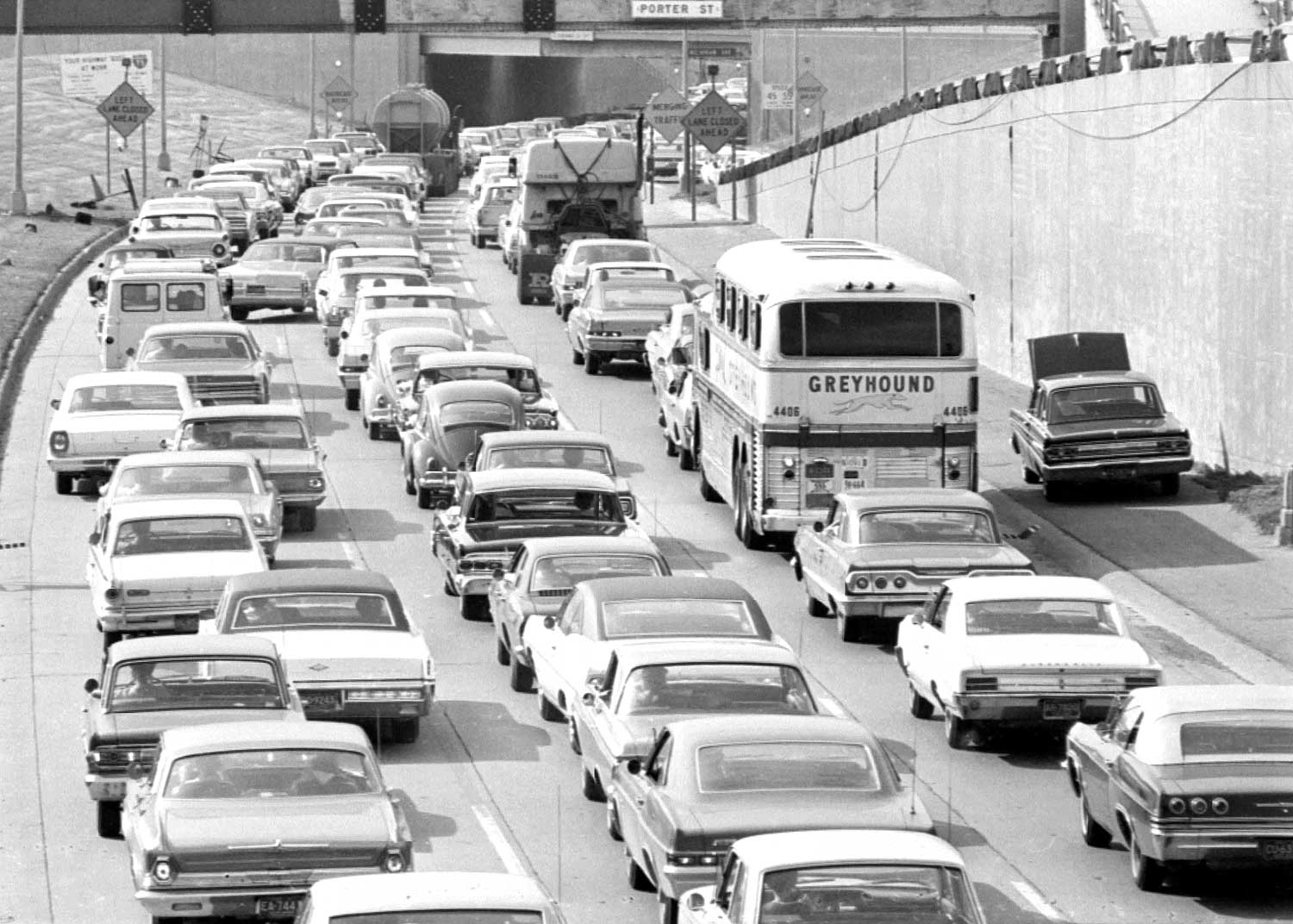 Fifties and Sixties Detroit Area Expressway Images | The Old