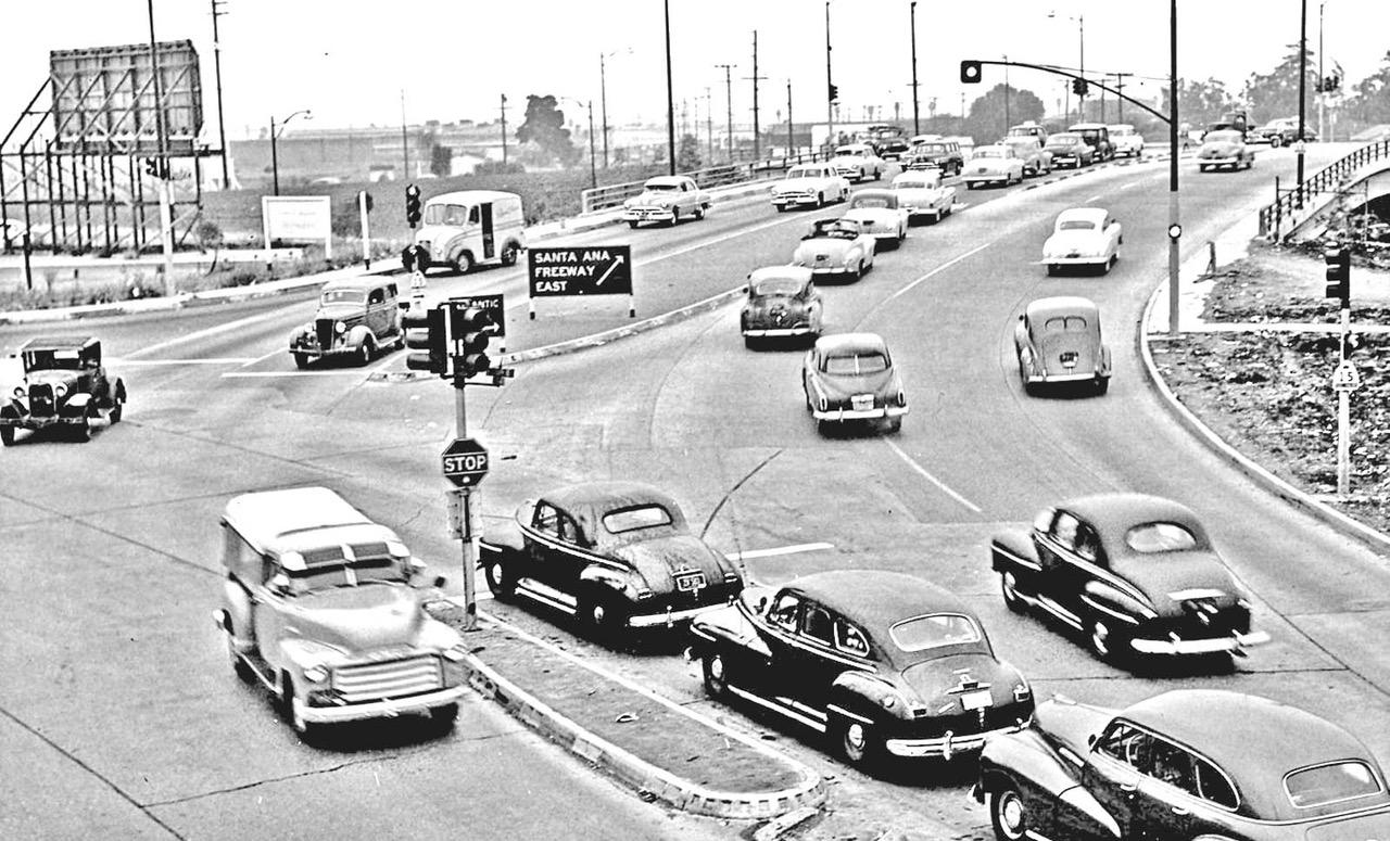 Santa Ana Auto Center >> Los Angeles: South Atlantic Boulevard and Santa Ana Freeway | The Old Motor