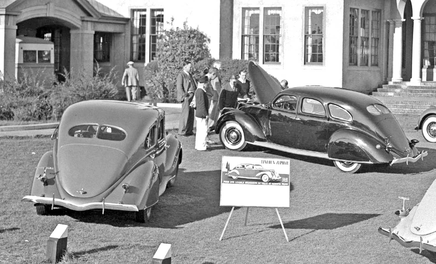 Lincoln Zephyr Introduction At The Prestigious Pinehurst Country