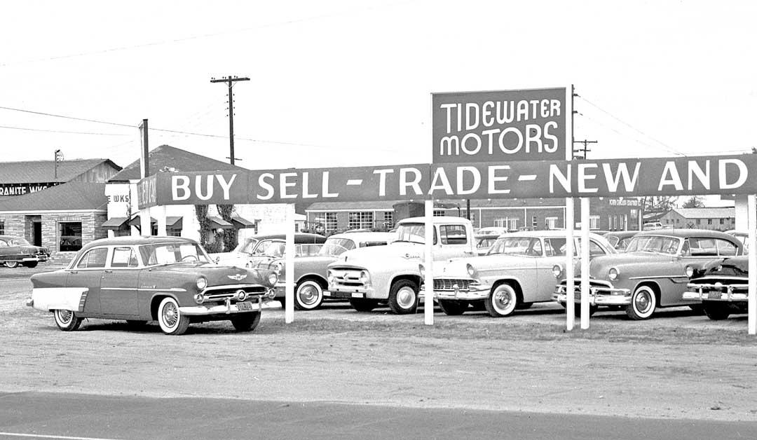 used car sales lots have we got a deal for you the old motor. Black Bedroom Furniture Sets. Home Design Ideas