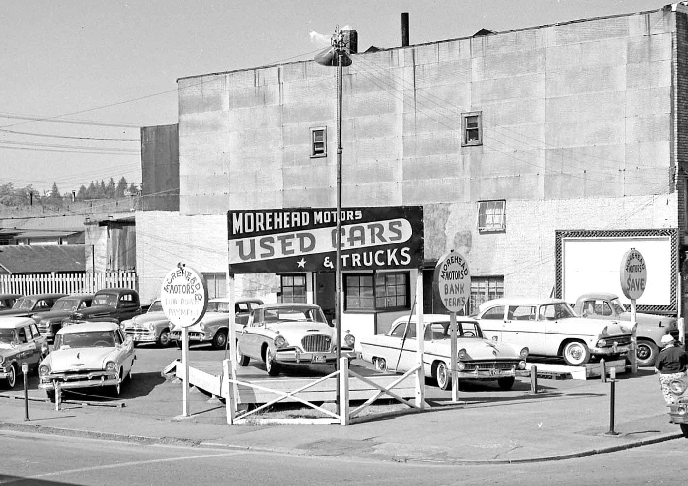 Morehead Motors Used Car Lot Aberdeen Washington The Old Motor