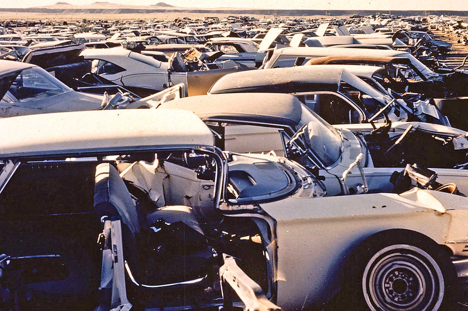 Danny'S Auto Salvage >> Salvage Yard Photos From The Epa Documerica Project The