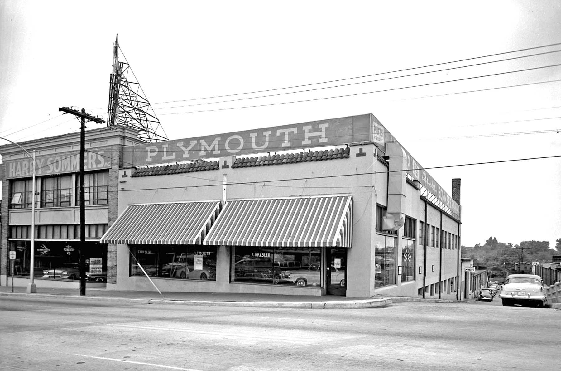 Harry Sommers Chrysler Plymouth Atlanta Georgia The Old Motor
