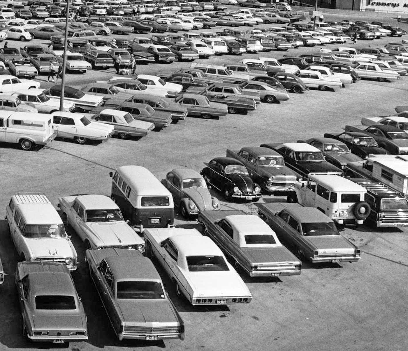 Parking Lot Series: Cinderella City Shopping Mall