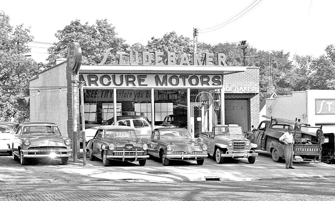 Mercedes Ann Arbor >> Arcure Motors: Studebaker Sales and Service | The Old Motor